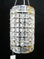 acrylic square beaded candle holder AMN1542