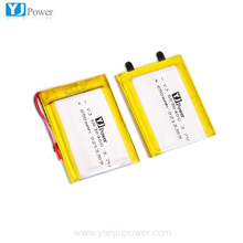 Protected 603040 3.7v rechargeable li-ion polymer battery 650mah digital camera battery