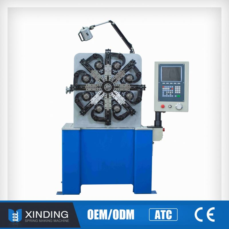 Hot Sale Quality First Popular Changeable Pitch Spring Making Machine