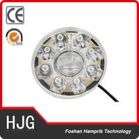 36W motorcycle led 7 inch projector headlight 12V-24V DC led light bulb
