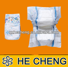 OEM high absorbent cotton pe back sheet film of baby diaper factory in china