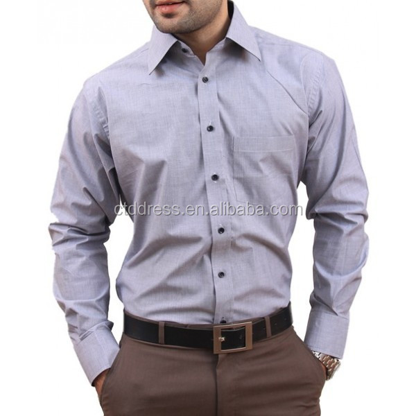 online shopping cotton fabric long sleeve shirt wholesale mens clothing