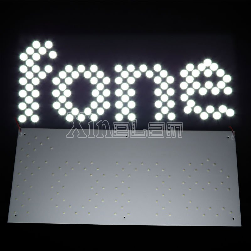 custom-made led 5050/3528 led writing sign board with competitive price
