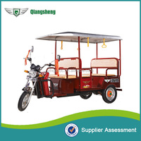 2016 battery operated electric passenger auto rickshaw for india