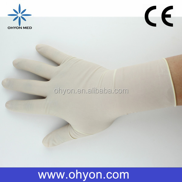 2016 Medical disposable best supplies pig leather glove with velrco cuff fl-1009 cheap latex gloves manufacturer