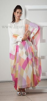 Caftan Crepe double layer