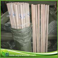 Treated Wooden Poles Manufacturer Floor Mop Handle Wooden Stick