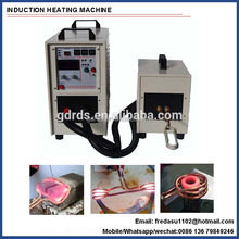 Full solid state IGBT high frequency induction heating machine