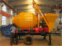 JH High Quality Mobile Electric Concrete Mixer Pump for sale