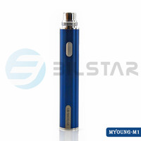 2015 new product Bilstar 5pin usb passthrough LED battery 650mah Myoung ego battery battery tube ecig mod