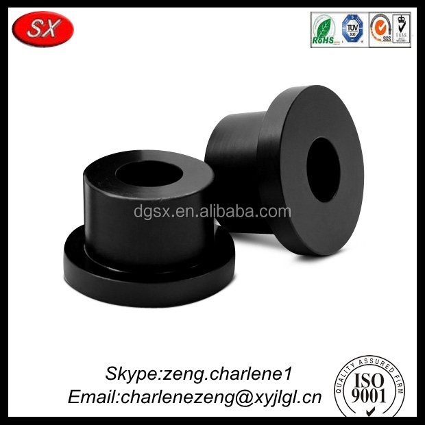 Hardware manufacturer custom precision auto rubber bushing with high quality