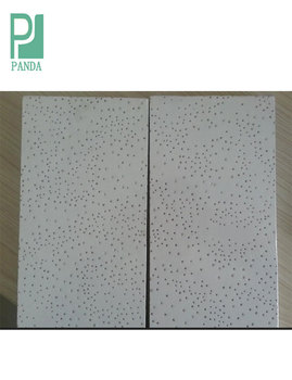 Acoustic Mineral Fibra Ceiling Board Panel 10MM