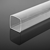 Transparent/Clear Extruded/ Cast Acrylic/Plexiglass/PMMA Tube/Pipe/Tubing
