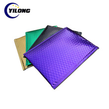 Wholesale Self-Sealing Printed Jiffy Courier Metallic Bubble Mailer Mailing Bags