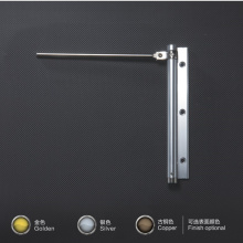 Stainless steel 15kg baring light duty self-closing door closer for hotel room /toilet door