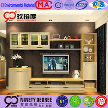 foshan naniya custom hot sale style tv stand wall luxury unit designs tv stand