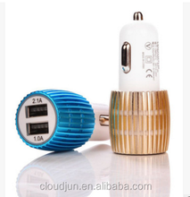 Wholesale colorful cell phone car charger, micro usb wireless charger, car usb charger for hyundai i20