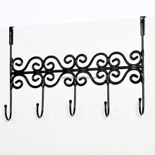 Multi Purpose Modern Home Decorative Over The Door Coat Clothes Hanger Wall Metal Cast Iron Hook