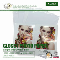 180g A4 size waterproof inkjet glossy photo paper
