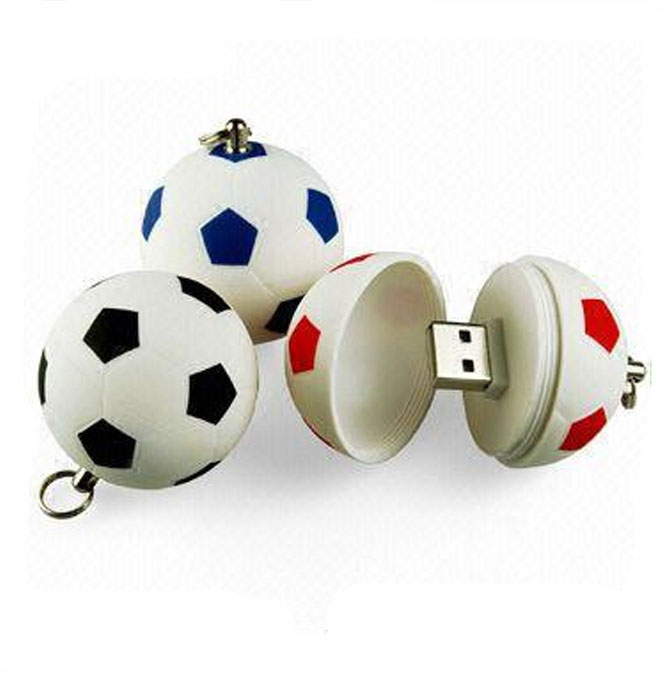 Pendrive Football USB Stick 64GB 8GB 16GB 32GB Cartoon basketball USB 2.0 Flash Memory Pen Drive 100%