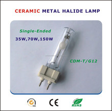 Single-Ended Ceramic Metal Halide Lamp (G12) 35W,70W,150W commercial lighting