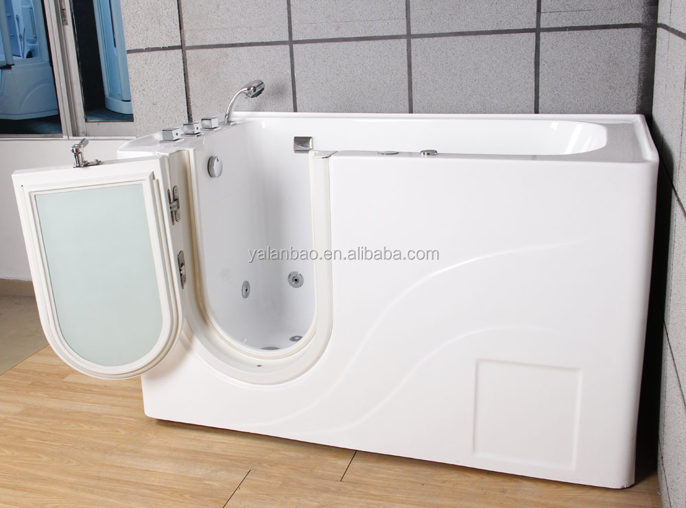 ACRYLIC WHIRLPOOL & AIR ADA WALK-IN-BATHS TUB