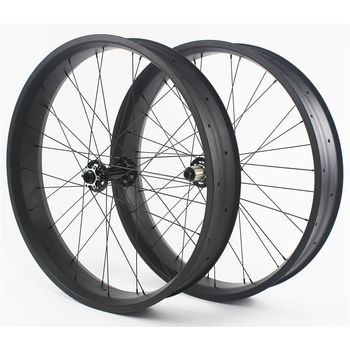 2015 hot sale wheels 26er carbon fat bike wheels 100mm clincher new product carbon road bike wheels UD snow bike rim