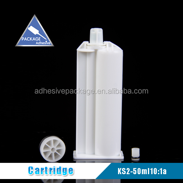 KS2-50ml 10:1a Dental Silicone Cartridge For Temporary Crown Material