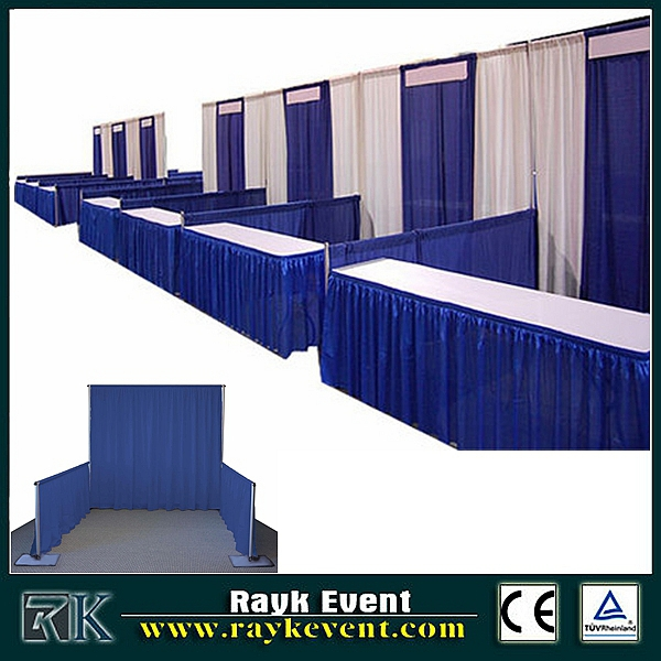 Pipe and drape stand trade show displays | photo booth . Frame