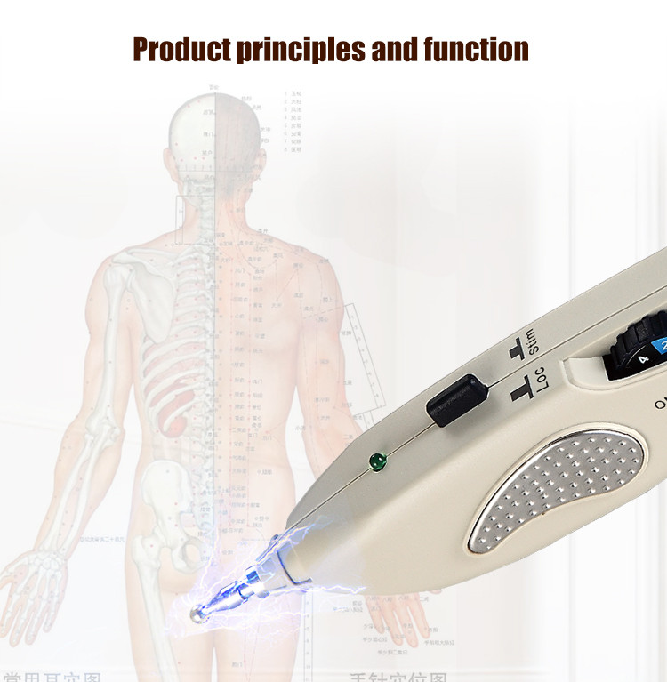 Elecmagnetic spectrum traditional chinese acupuncture instruments point detector