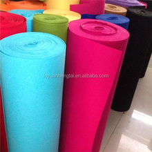 High Quality Polyester through nonwoven make Felt Fabric and wool fabric