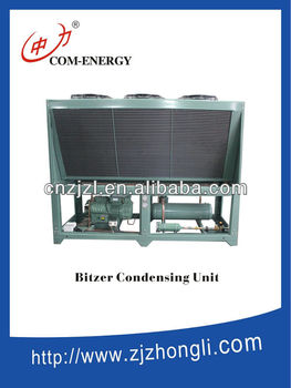 Industrial Chiller With Bitzer Compressor, Vertical Air Blow