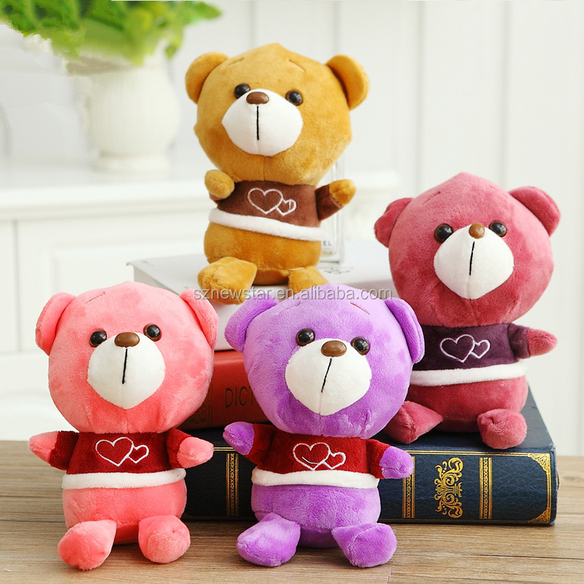 OEM 18cm hot selling Doll toy animal for toy catcher machine/crane machine soft small teddy bear