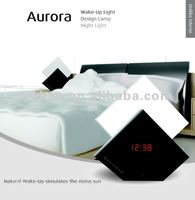 2013 New fashion Novelty cool Wake up light/Sunrise clock