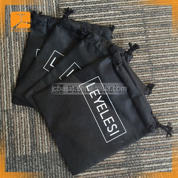Custom Promotional Cotton Canvas Drawstring Bag