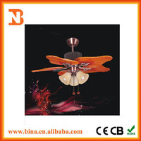 2016 Positive inversion Axial Wooden Ceiling Fan