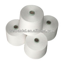 45s carded poly cotton yarn price/ polyester cotton 65/35 yarn