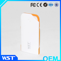 High Quality Ultra Thin Mobile Portable Power Bank 1000 mAh, Easy To Carry And Use with usb flash drive in card shape