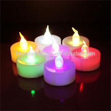 Professional Best quality Hot Sale colored candle set with SGS for office