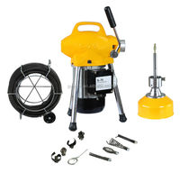 S75 water jet drain cleaning machine for pipe cleaning