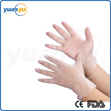 Disposable Vinyl Glove Powder-free Gloves, Smooth and Interior Comfortable PVC Gloves