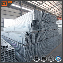 ERW pre galvanized pipe cold rolled rectangular steel tubes for fenceing guard bar
