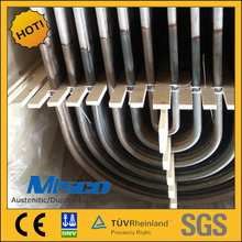 STAINLESS STEEL TP321/321H SEAMLESS U SHAPED BOILER TUBING