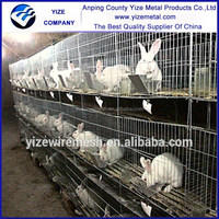 wholesale alibaba Rabbit Hutch Designs/Rabbit Battery Wire Cages