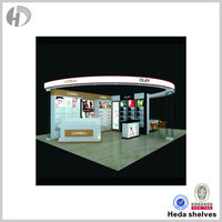 Strong quality cosmetic display cabinet cosmetic showcase