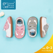 Littlebluelamb branded wholesale funny soft sole leather infant baby shoes