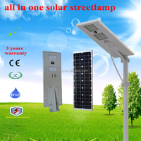 30w 3 years warranty all in one solar led street light , solar street lamp with top quality and competitive prices