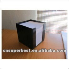 New note holding of clear acrylic notepaper box