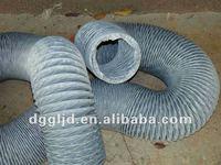 PVC flexible hvac air duct pipe