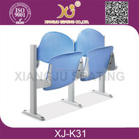 XJ-K31 Fixed typed wood folding school desk and chair